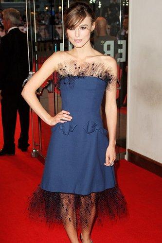 Keira Knightley - die britische Schauspielerin.