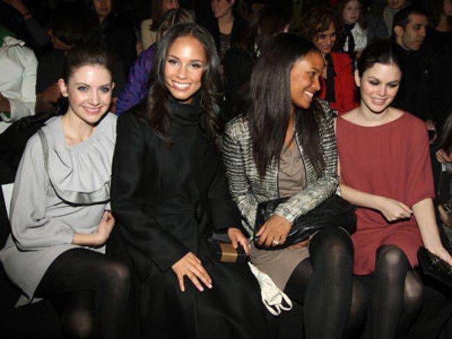 New York Fashion Week Allison Brie, Alicia Keys, Joy Bryant und Rachel Bilson