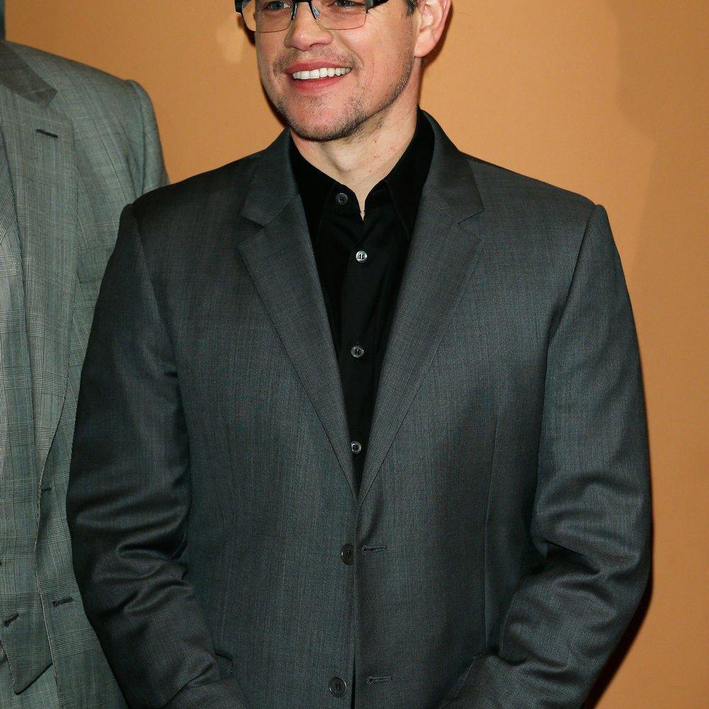 Matt Damon kämpft gegen den Durst