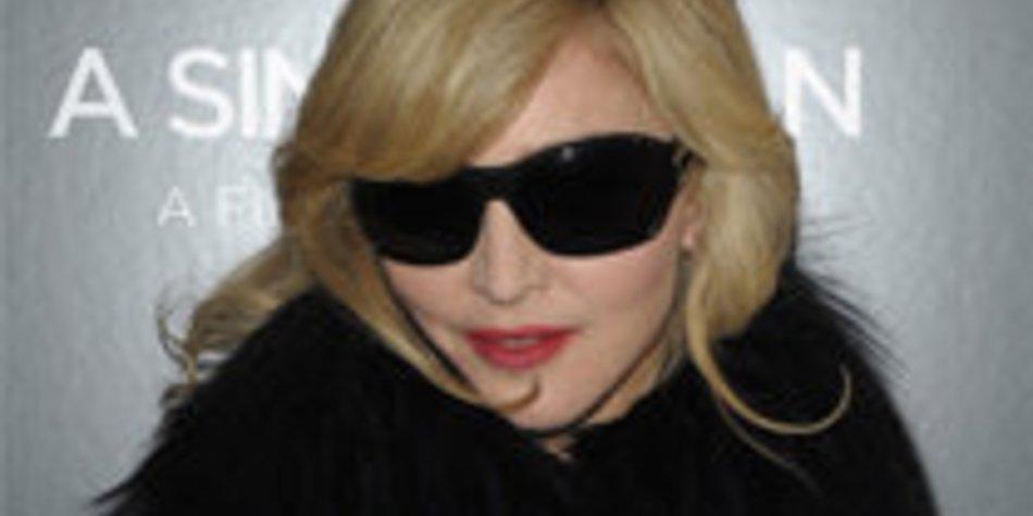 Madonna designt Sonnenbrillen