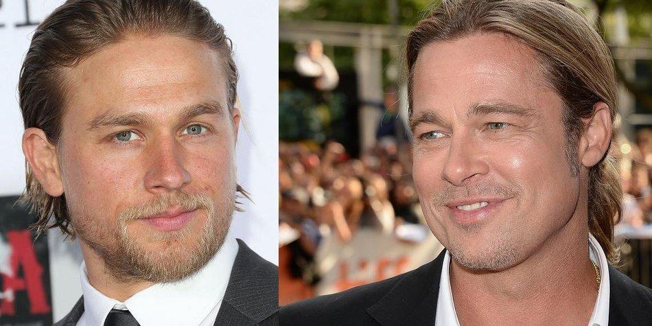 Brad Pitt lobt Charlie Hunnam