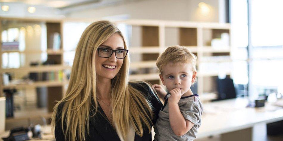 Berufstätige Mütter meist in Teilzeit