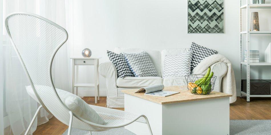 gemutliche einrichtungsideen kleine wohnzimmer, kleines wohnzimmer einrichten: top 10 tipps! | desired.de, Ideen entwickeln