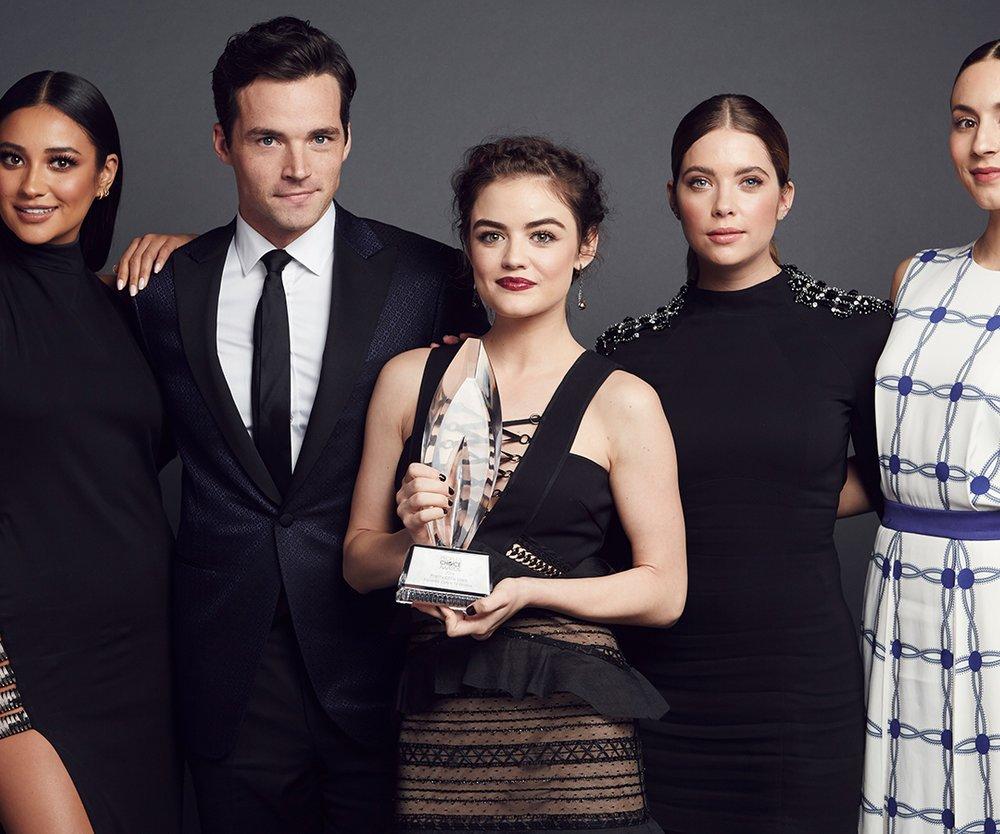 Der Cast von Pretty Little Liars