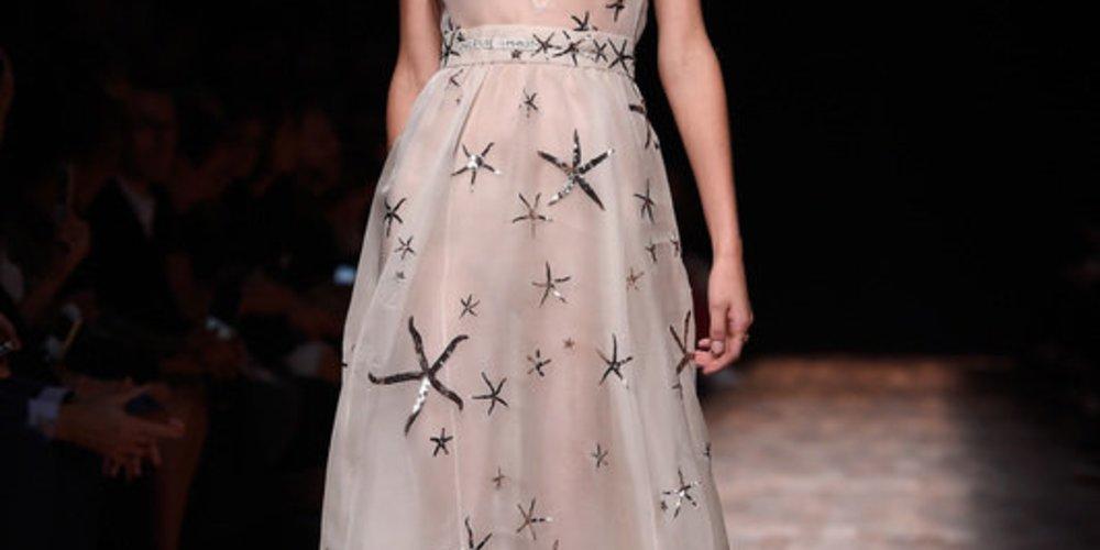 Valentino bei der Paris Fashion Week