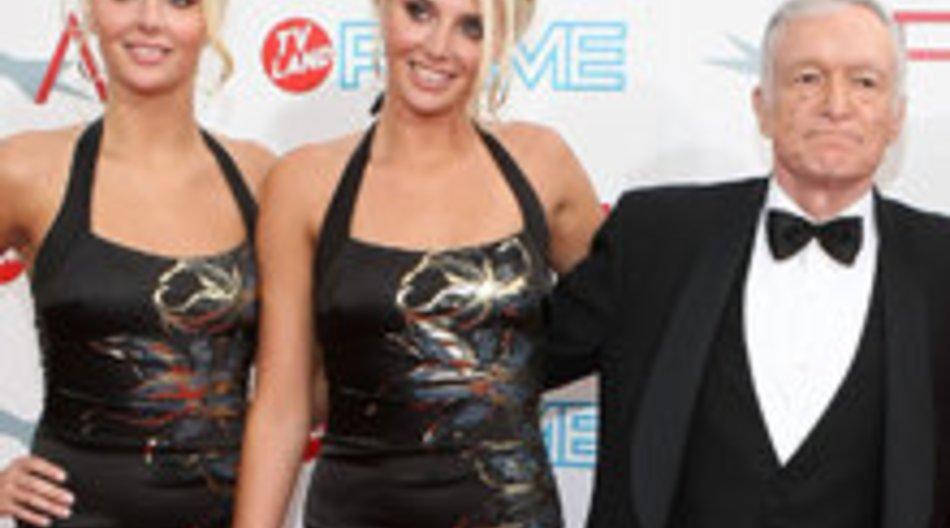 Hugh Hefner: Zwillinge haben ihn verlassen