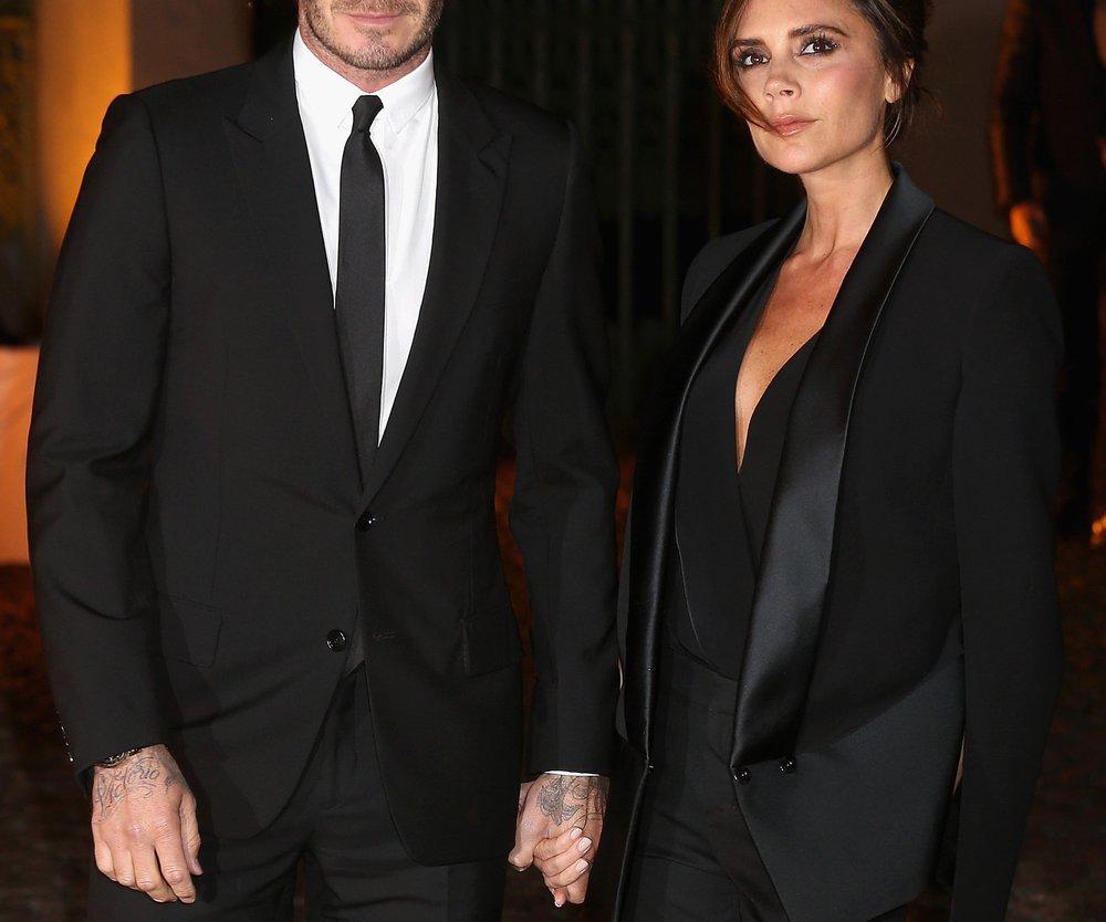 David Beckham unterstützt Victoria