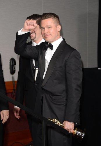 Brad Pitt gewinnt den Oscar