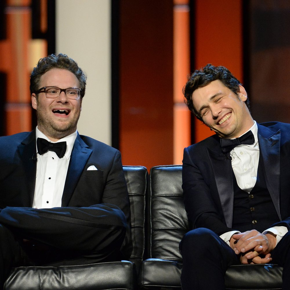 James Franco und Seth Rogen: Privatkonzert für Kanye West?