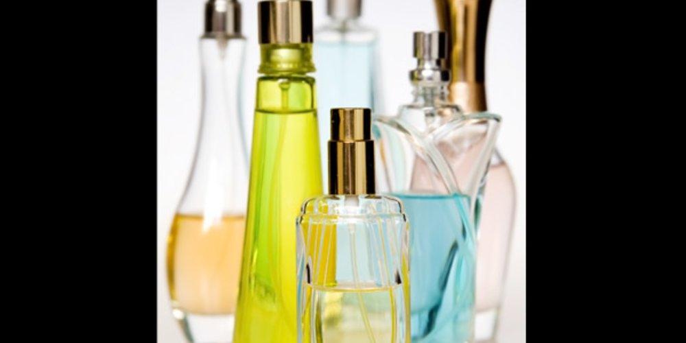 Unterschiedliche Parfums