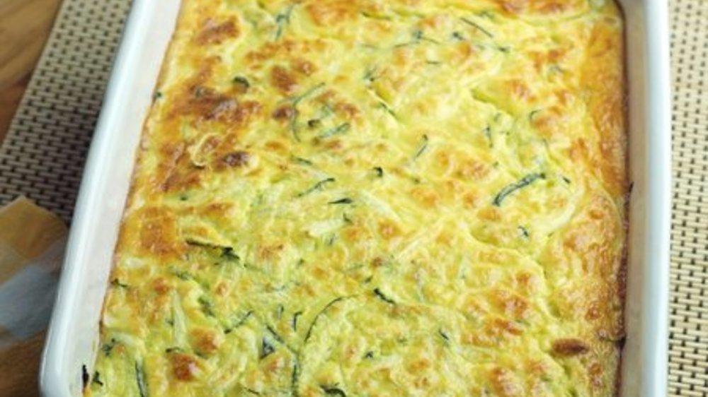 Zucchini Auflauf vegetarisch