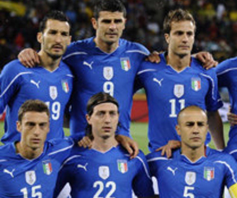 WM 2010: Italien spielt heute gegen Neuseeland