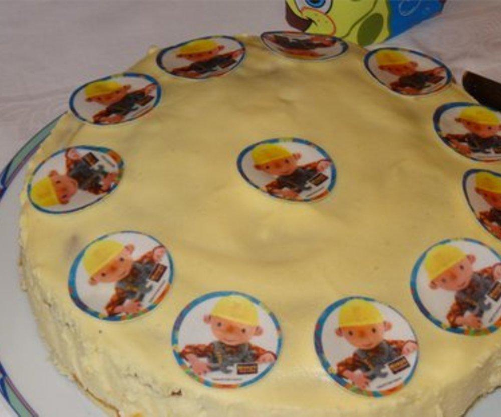 Ostereierlikörtorte mit Himbeeren