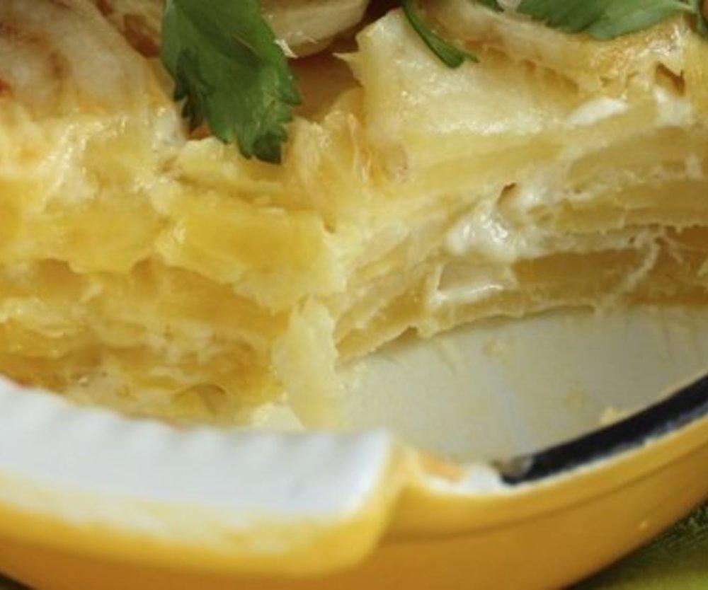 Kartoffelauflauf vegetarisch