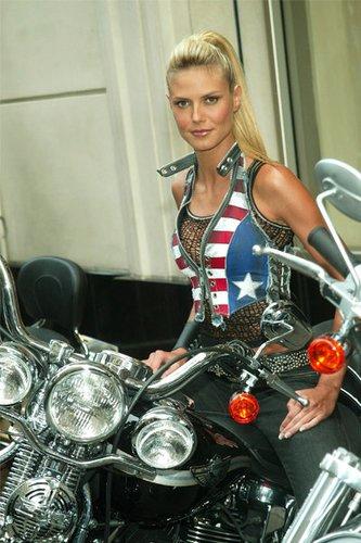 Heidi Klum als Engel