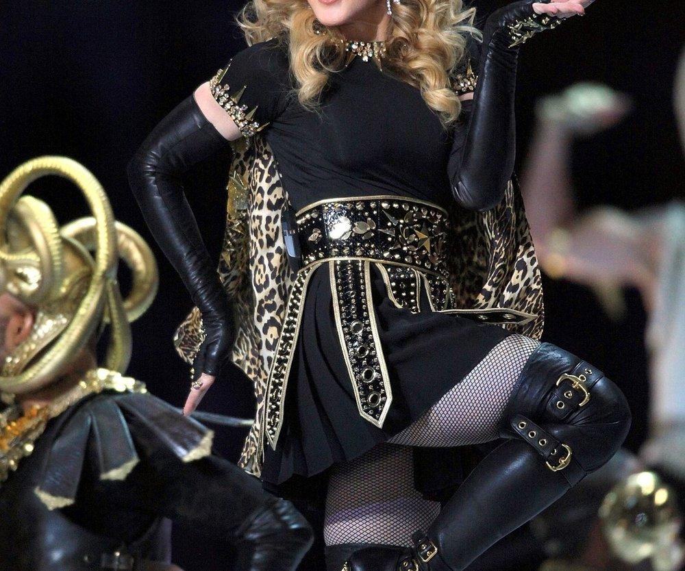 Madonna begeistert ihre Kollegen