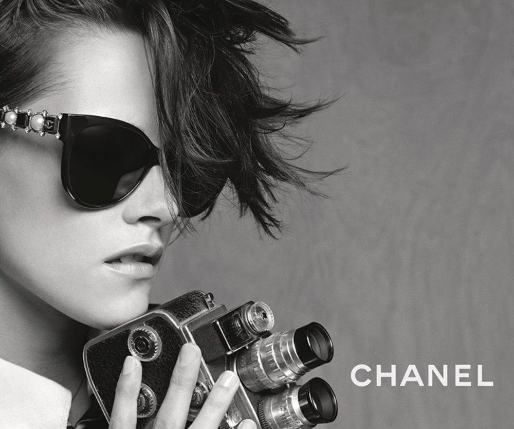 Kristen Stewart ist das Gesicht der Chanel Eyewear-Kampagne