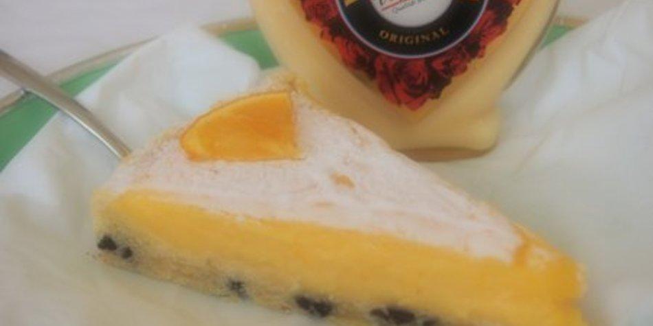 Luftig-leichter Käsekuchen mit Orangengeschmack und Verpoorten
