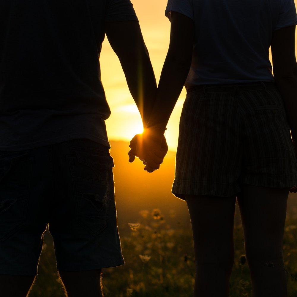 monogames Paar