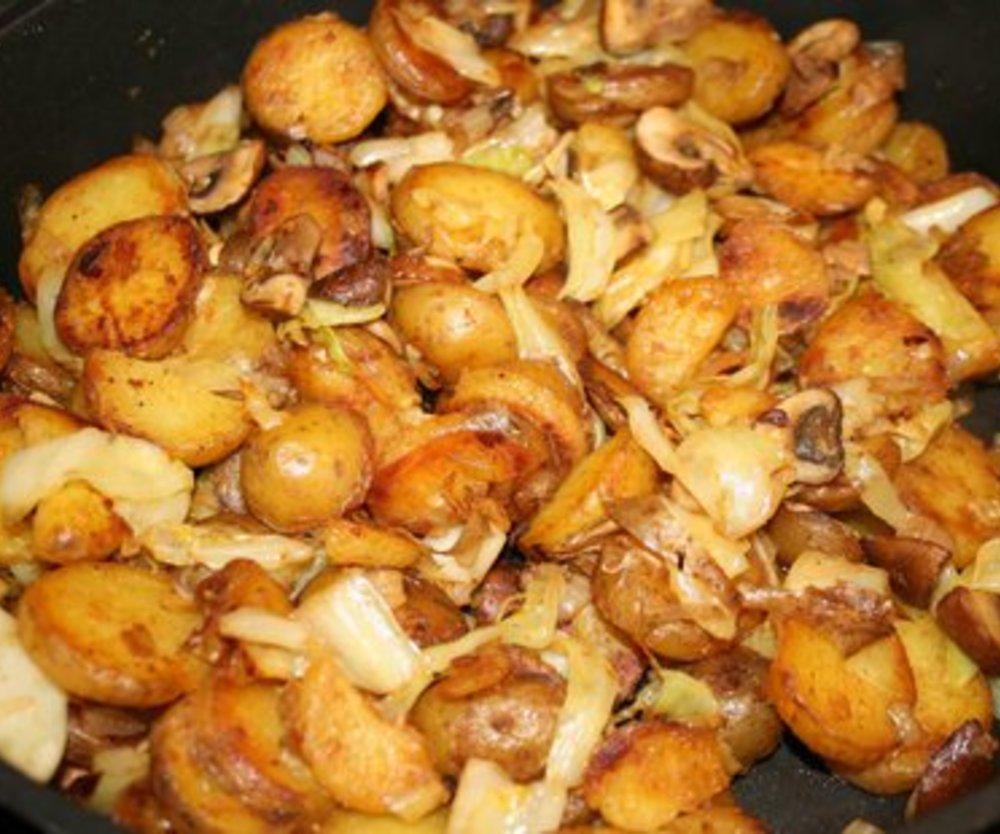 Bratkartoffeln wie bei Mutti