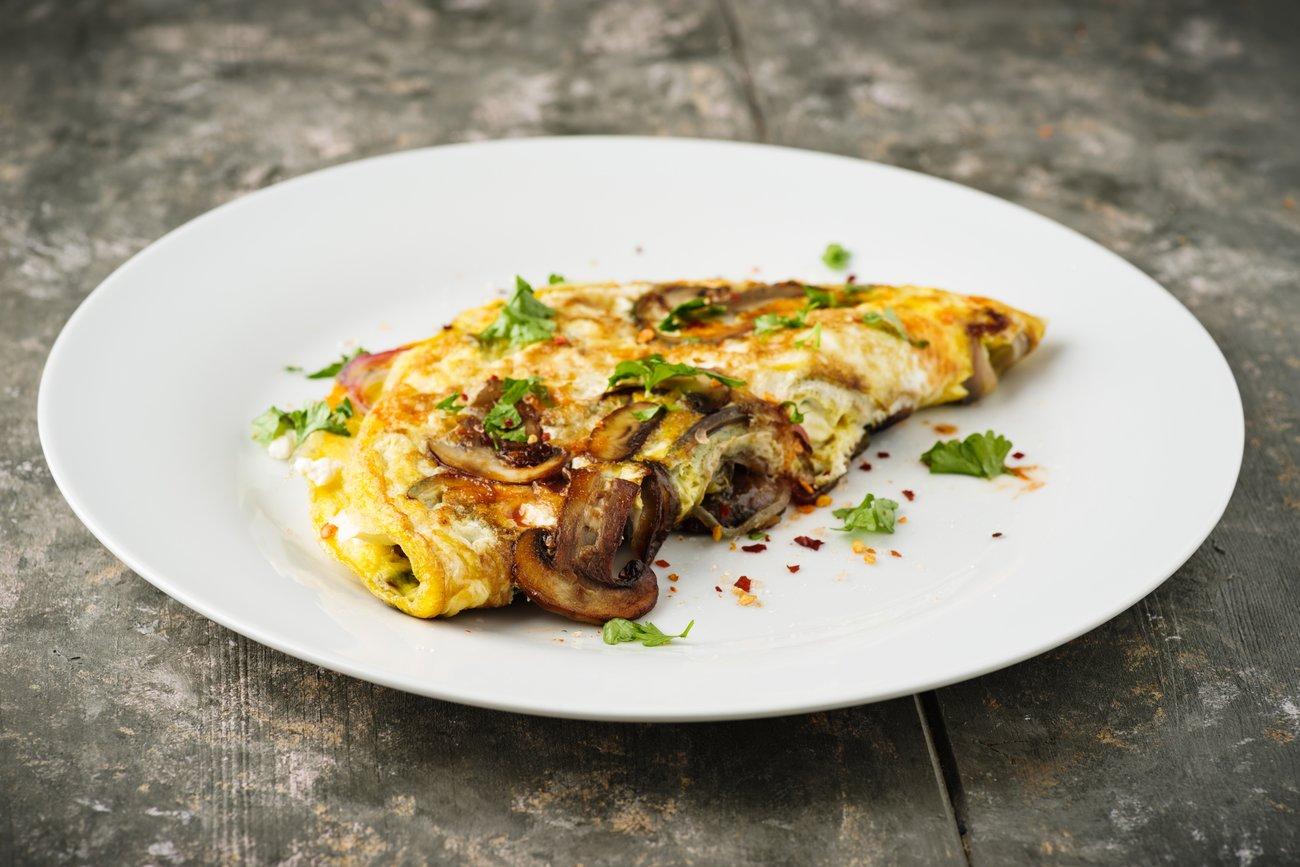 Low Carb Frühstück Omelett