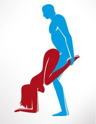 Schubkarre Sexstellung