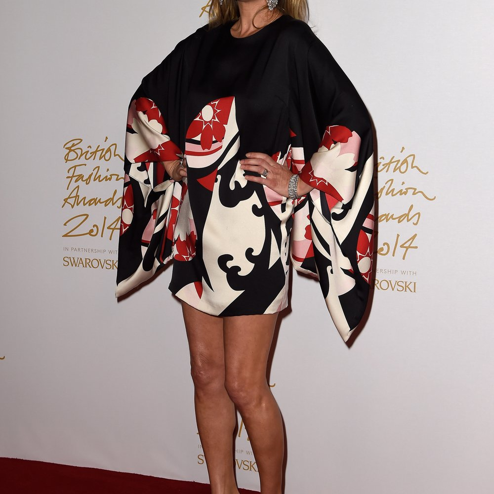 Kate Moss reist nicht nur mit Handgepäck
