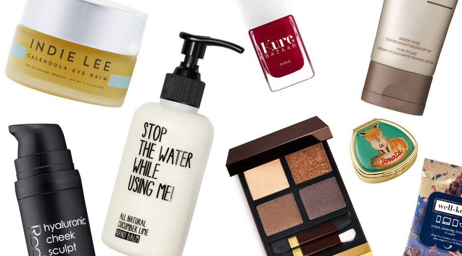 Andrea Garland, Ilia, Indie Lee, Kure Bazaar, Rodial, Stop the water while using me!, Tom Ford, Well Kept