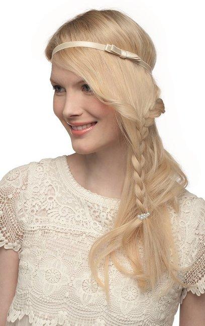 Blonde haare zum glanzen bringen