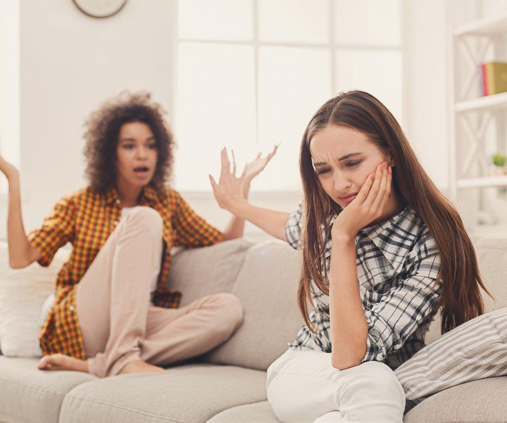 Streit mit der Freundin