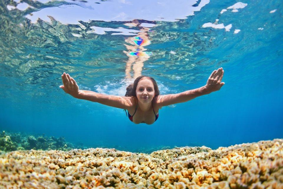 Schwimmen gehen mit periode