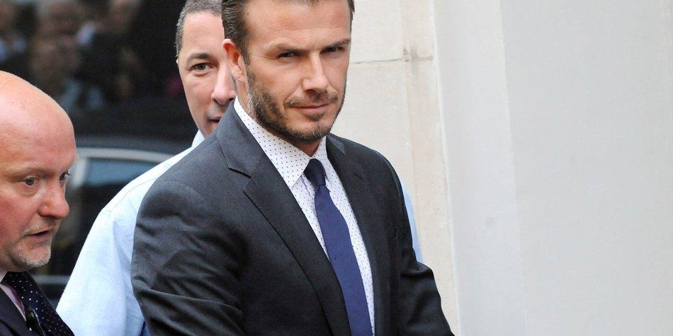 David Beckham ist ein echter Meisterkoch