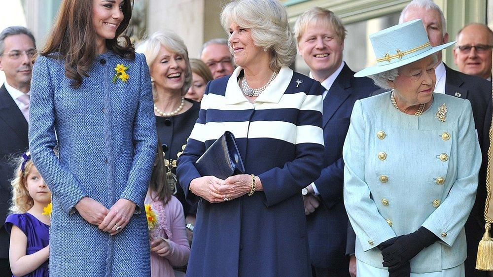 Kate Middleton: Tea-Party mit der Queen