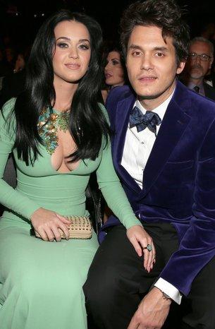 Katy Perry und John Mayer bei einem Event