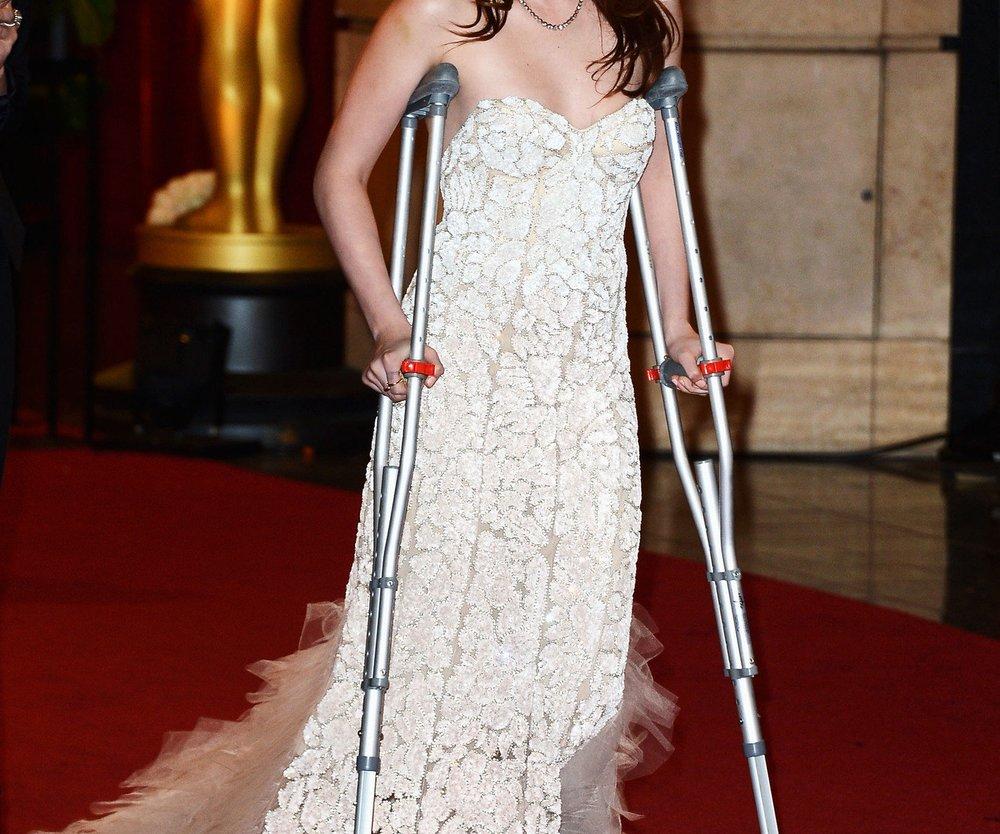 Kristen Stewart: Verletzt und schlecht drauf!