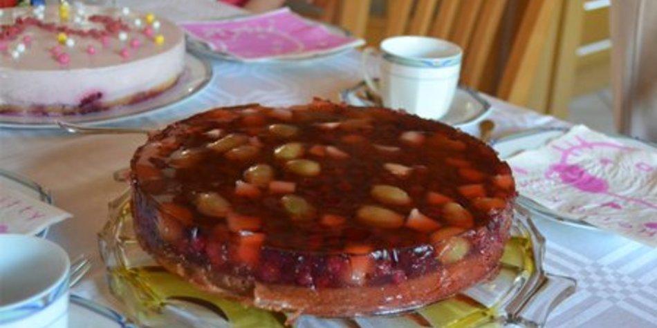 Melonen/Stachelbeertorte