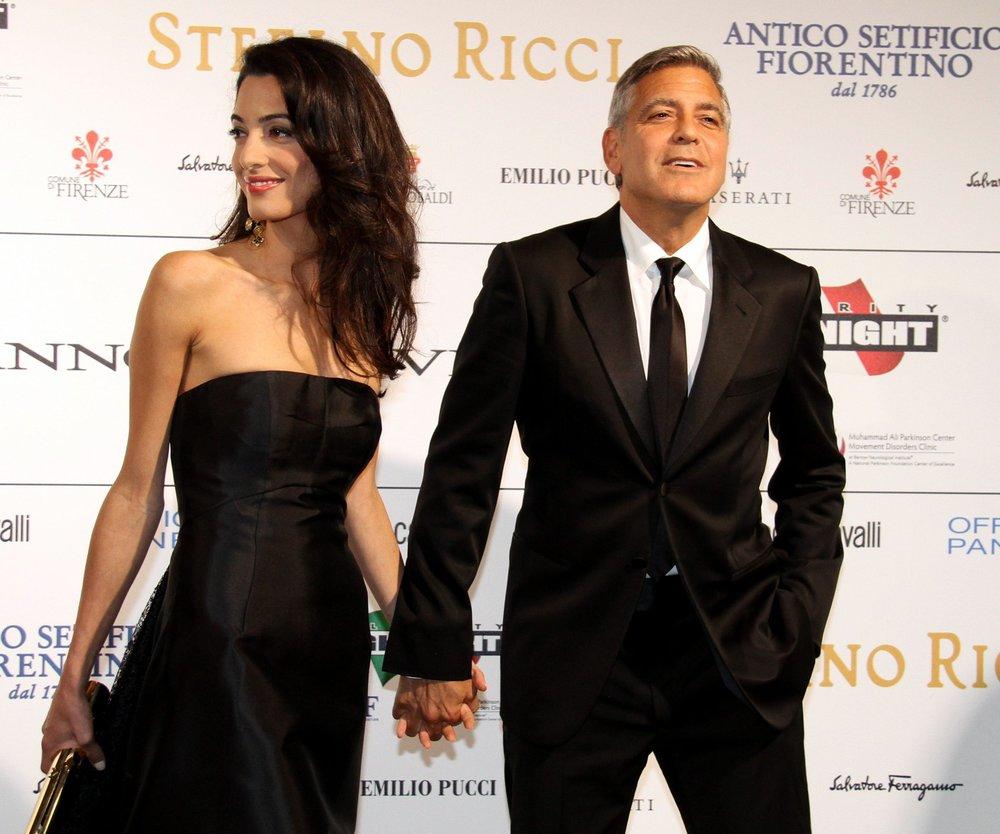 George Clooney trotzt den Gerüchten um die Ehekrise
