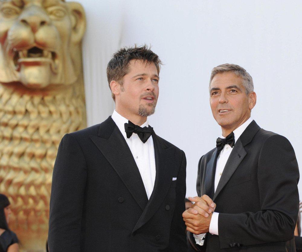 Brad Pitt plant Rache an George Clooney