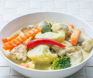 Grünes Thai Curry
