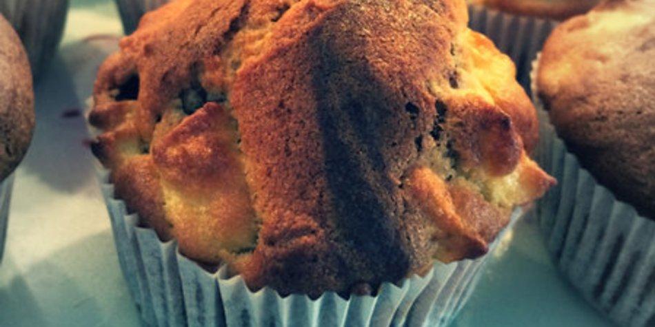 Apfel Marmor Muffins