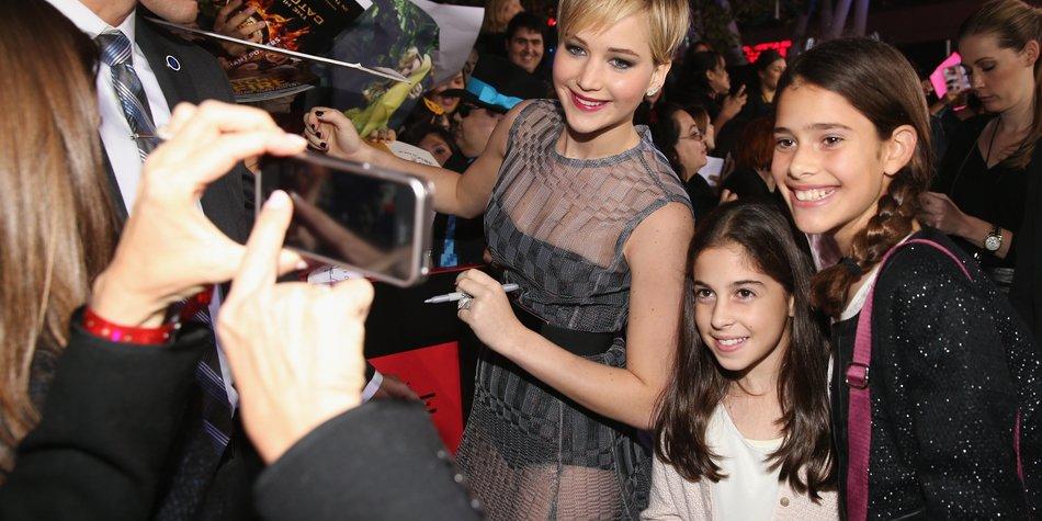 Jennifer Lawrence möchte ihre Fans nicht nerven