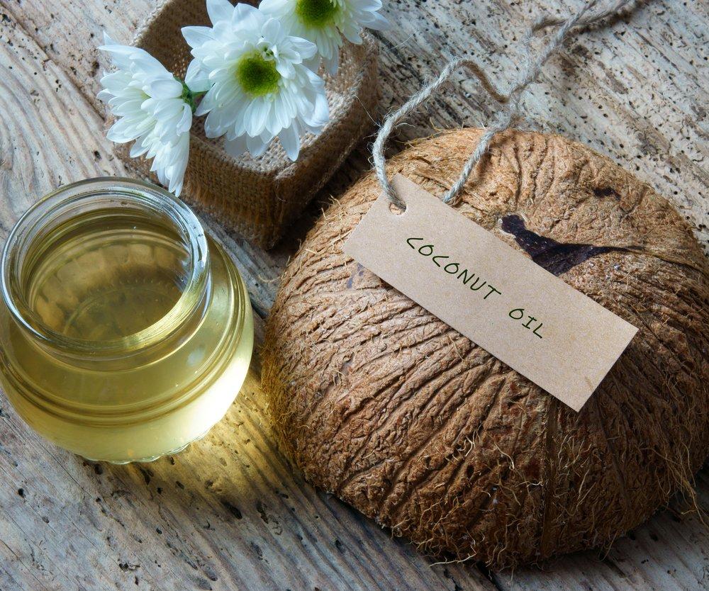 Kokosöl gegen Pickel