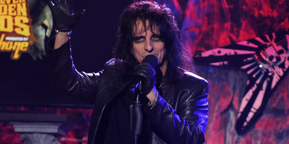 Alice Cooper: Auf Tour mit Johnny Depp?