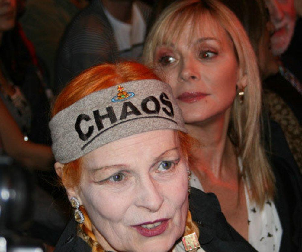 Vivienne Westwood bei ihrer Show.