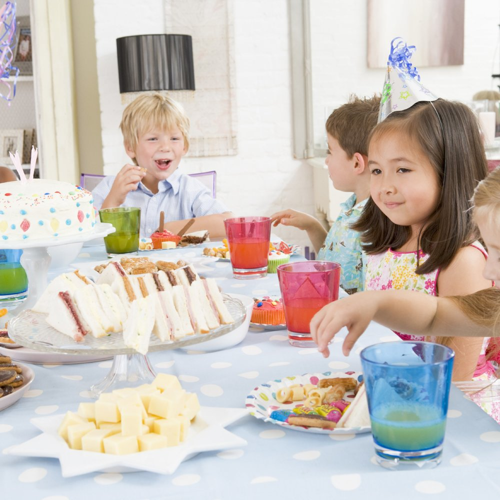 Das richtige Essen für den Kindergeburtstag!