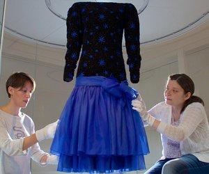 Kleid von Jacques Azagury