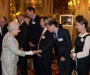 Niall Horan hat die Queen getroffen