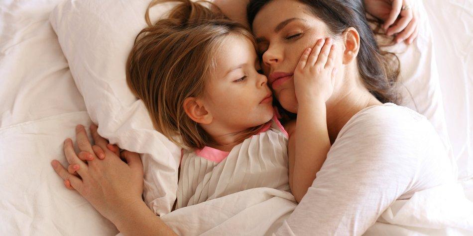 Kinder brauchen ganz viel Liebe und Nähe