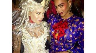 Beyonce feiert Halloween mit Sylvie Meis