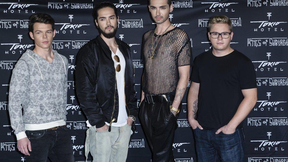 """Tokio Hotel erreicht """"nur"""" den zweiten Platz"""
